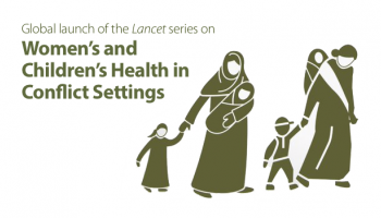 Event graphic used to promote the launch of this series of articles in the Lancet.