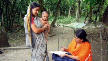 In Bangladesh, young people are increasingly using cell phones to access health services.