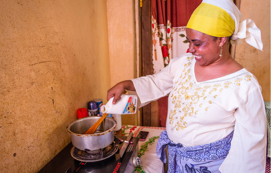 Local business solutions are combating vitamin A deficiency and spurring economic growth in rural areas